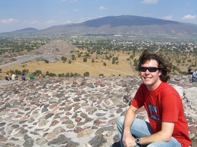 Santi en Teotihuacan