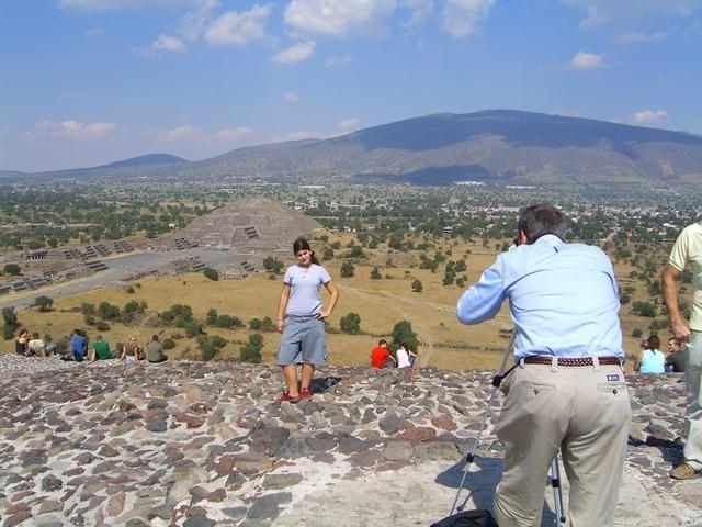 Fotos en Teotihuacan