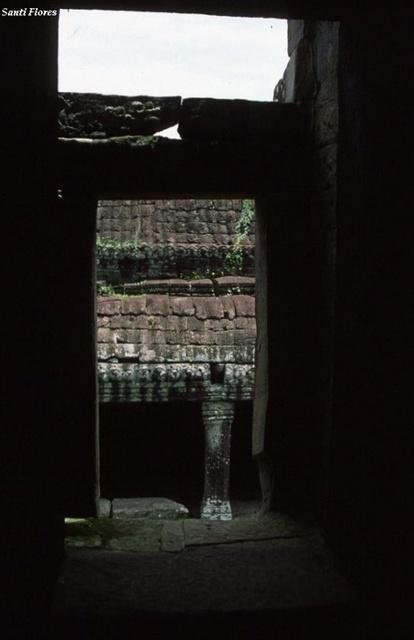Interior templo Angkor