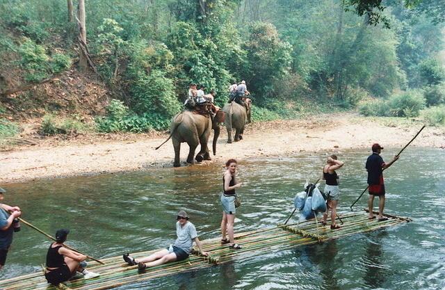Rafting y elefantes