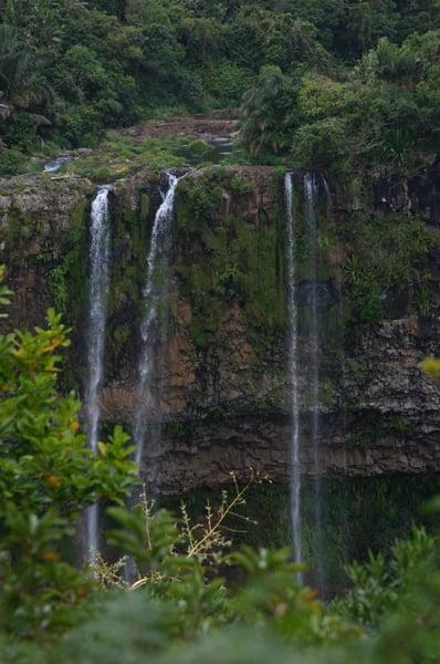Zoom Cascada de Chamarel