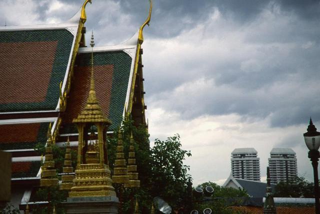 Contraste en Bangkok
