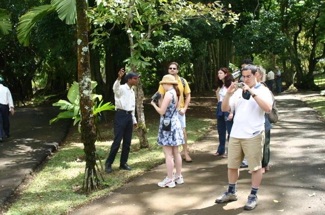 Visita Jardín Pamplemousses