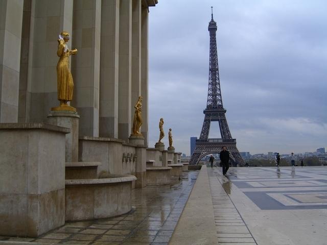 Torre Eiffel desde el palais de Chaillot