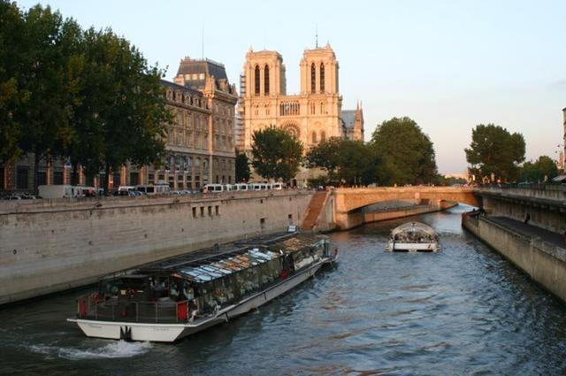 Notre Dame y el Sena