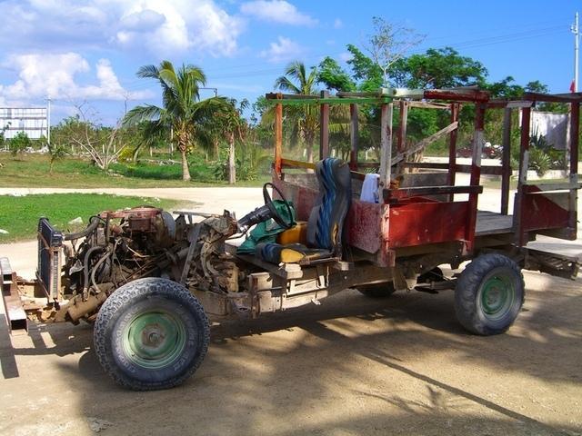Transporte a los cenotes