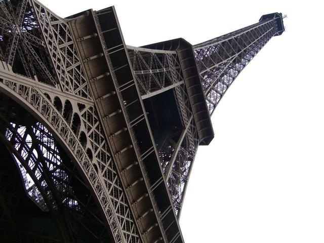 La torre desde abajo