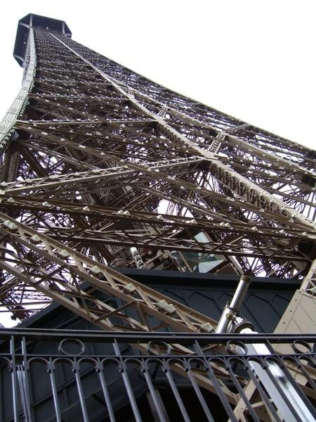 La torre desde el segundo piso