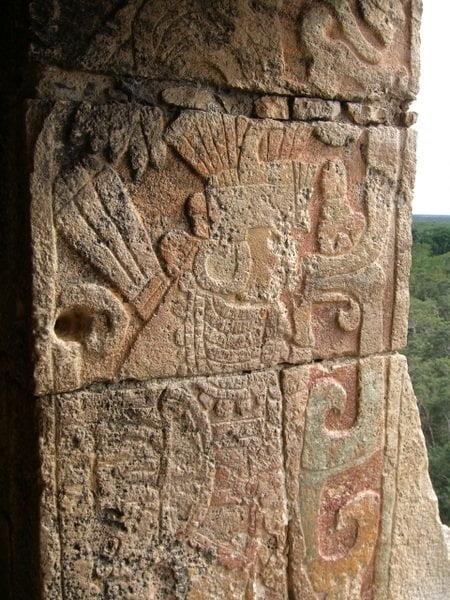 Grabados mayas