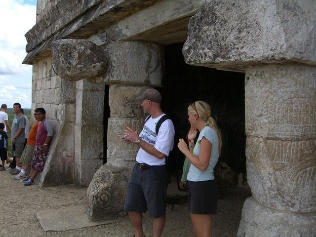 Columnas y visitantes
