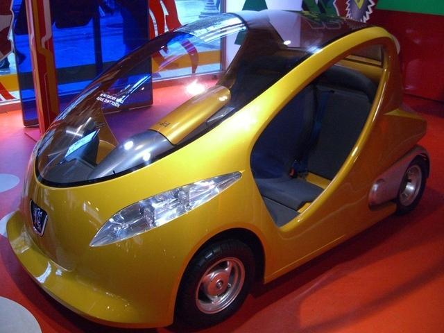 Prototipo mini-utilitario Peugeot