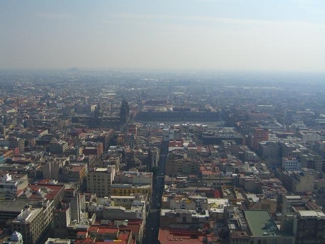 Zócalo desde Torre Latino