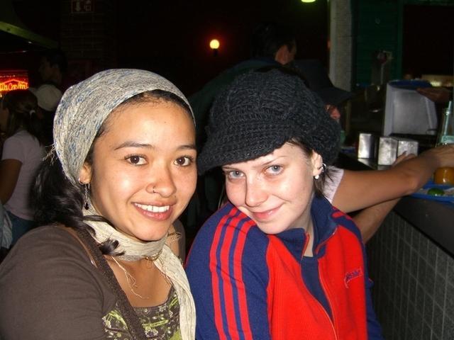 Raquel y Sabrina