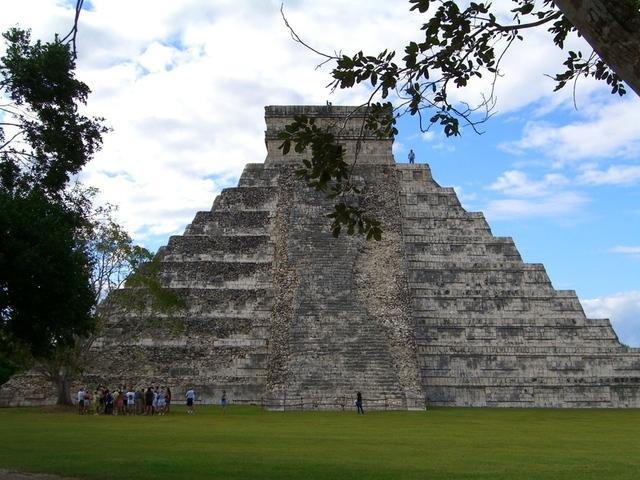 El Castillo en Chichén Itzá
