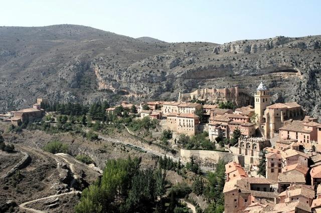 Albarracín y el Guadalaviar