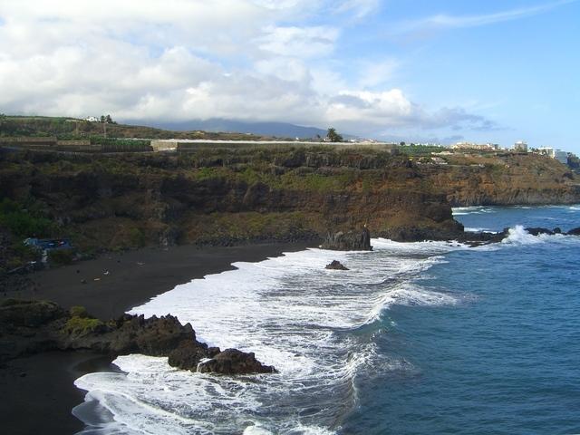 Vista de la playa desde la punta este