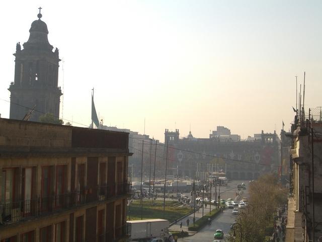 Zócalo,  desde el México City Hostel