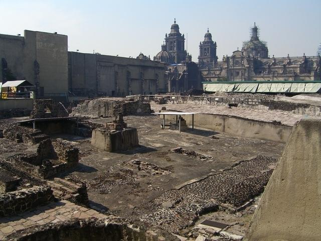 ruinas  templo mayor