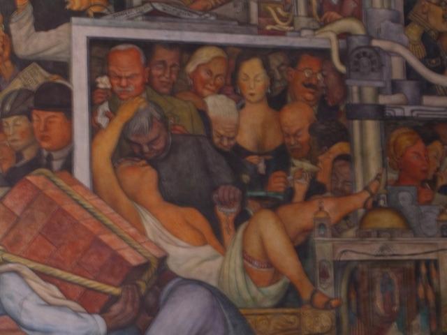 Mural  principal