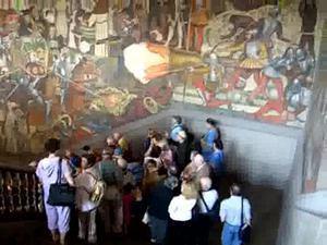 Vídeo del mural de Diego Rivera
